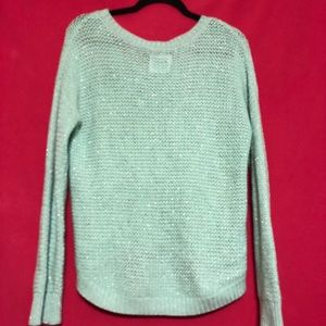 Justice Shimmer High Low Sweater